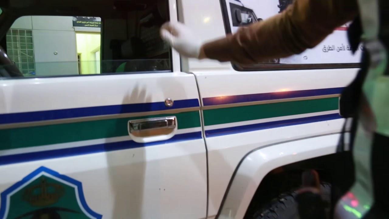 جهود رجال الضبط الأمني بالأفلاج لتطبيق منع التنقل لمنع انتشار كورونا