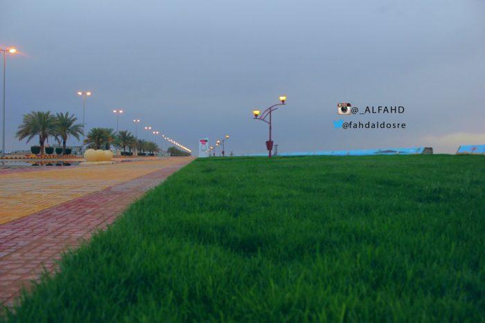 """""""ممشى الغروب"""" تصوير فهد آل ظافر"""