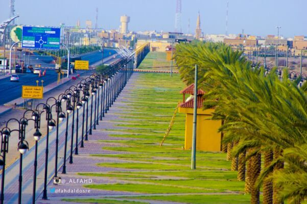 """"""" الشارع العام """" تصوير فهد آل ظافر"""