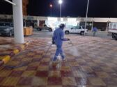 شاهد:بلدية الأفلاج تكثف حملات الرش والتعقيم ضمن إجراءاتها الاحترازية