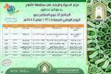 مركز الدعوة والإرشاد بالأفلاج ينظم برنامجاً دعوياً تزامناً مع اليوم الوطني