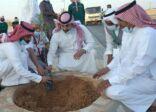 شاهد: بالصور لجنة تنمية البديع تنظم فعالية زراعة 500 شجرة..