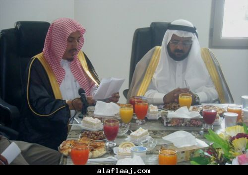 كلمة مدير الأحوال المدنية الشيخ مبارك بن محمد المواش